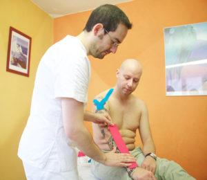 Kinesio Taping Osteopatia Italia Riccardo Rezzani Vigevano, Milano